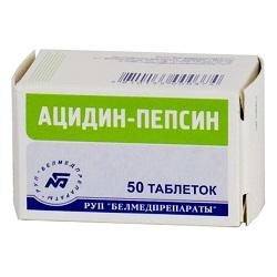 Acidin Pepsin Tabletten