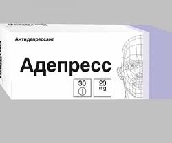 Tabletten Adepress 20 mg