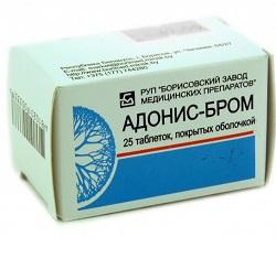 Überzogene Tabletten Adonis Brom