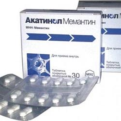 Tabletten Akatinol Memantine