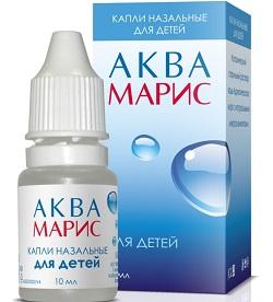 Nasale Tropfen Aqua Maris für Kinder
