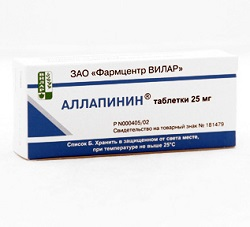 Allapinin Tabletten 25 mg