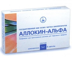 Antivirales Mittel Allokin-Alpha