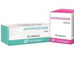 Alprazolam Tabletten