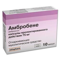 Ambrobene Kapseln 75 mg