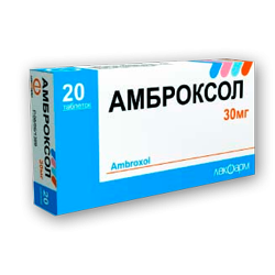Ambroxol 30 mg Tabletten