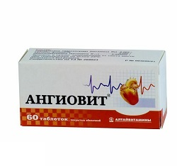 Vitamine Angiovit Tabletten