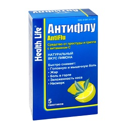Antiflu mit Zitronengeschmack