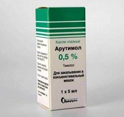 0,5% Augentropfen ARUTIMOL
