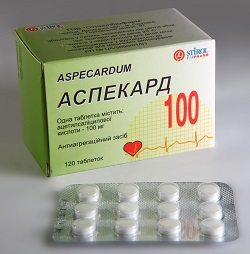Antiaggregator Droge Aspekard
