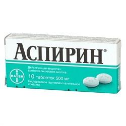 Aspirin Tabletten 500 mg