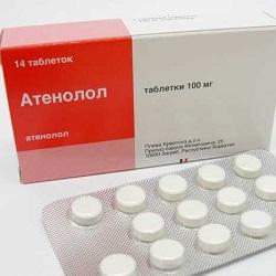 Atenolol Tabletten 100 mg