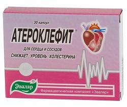 Ateroclefit in Kapselform
