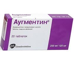 Antimikrobielles Mittel Augmentin