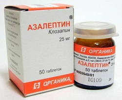 Tabletten Azaleptin 25 mg