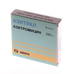 Azitralkapseln 250 mg
