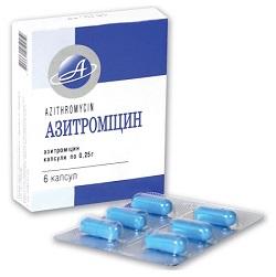 Azithromycin Kapseln 250 mg