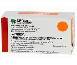 Bifikol Lyophilisat zur Herstellung von Suspension zum Einnehmen
