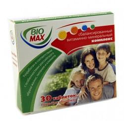 Vitamin- und Mineralstoffkomplex Bio-Max