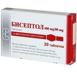 Tabletten Biseptol 400/80 mg