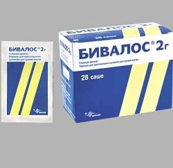 Dosierungsform Bivalos - Granulat für die Suspendierung