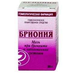 Brioniummittel gegen Bronchitis