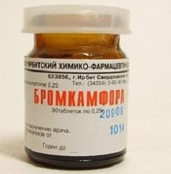 Bromocampher Tabletten von 0,25 g