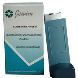 Dosiertes Aerosol Budesonid