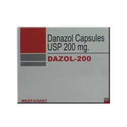 Kapseln Danazol 200 mg