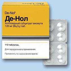De-Nol Tabletten 120 mg