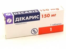 Dekaris in einer Dosis von 150 mg
