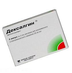 Entzündungshemmendes Mittel Dexalgin