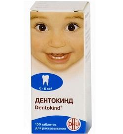 Tabletten zum Saugen von Dentokind