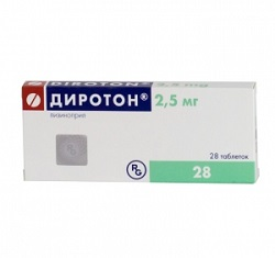 Diroton Tabletten 2,5 mg