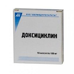 Doxycyclin Kapseln 100 mg