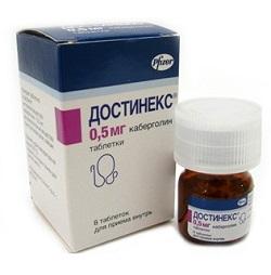 Dostinex Tabletten 0,5 mg