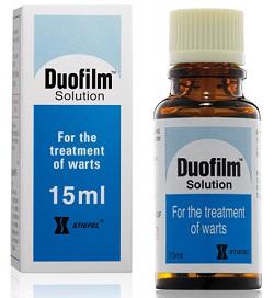 Duofilm-Lösung für den externen Gebrauch