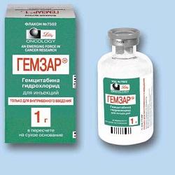 Lyophilisat Gemzar in einer Dosis von 1 g