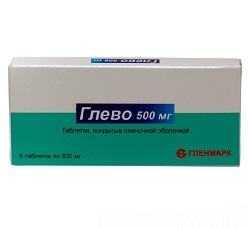 Glevo 500 mg Tabletten