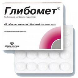 Hypoglykämisches Mittel Glibomet