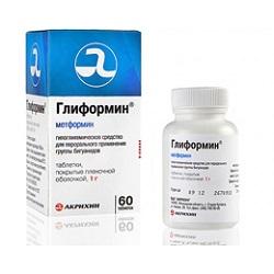Hypoglykämisches Medikament Gliformin