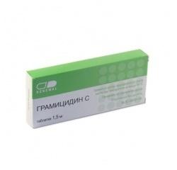 Antibakterielles Medikament Gramicidin