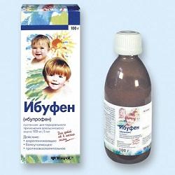 Suspension für orale Ibufen