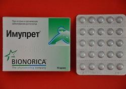 Imupret Tabletten