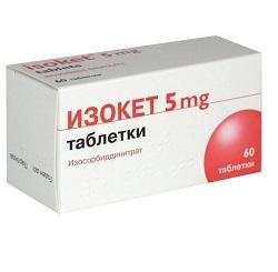 Isoket Tabletten 5 mg