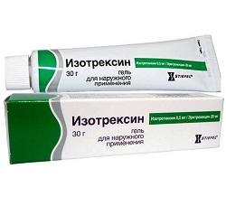 Isotrexin-Gel zur äußerlichen Anwendung