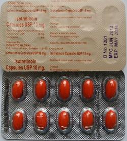 Isotretinoin Kapseln 10 mg