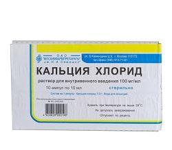 10% Calciumchloridlösung