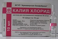 Kaliumchlorid-Lösung