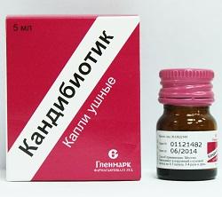 Canbibiotische Ohrentropfen